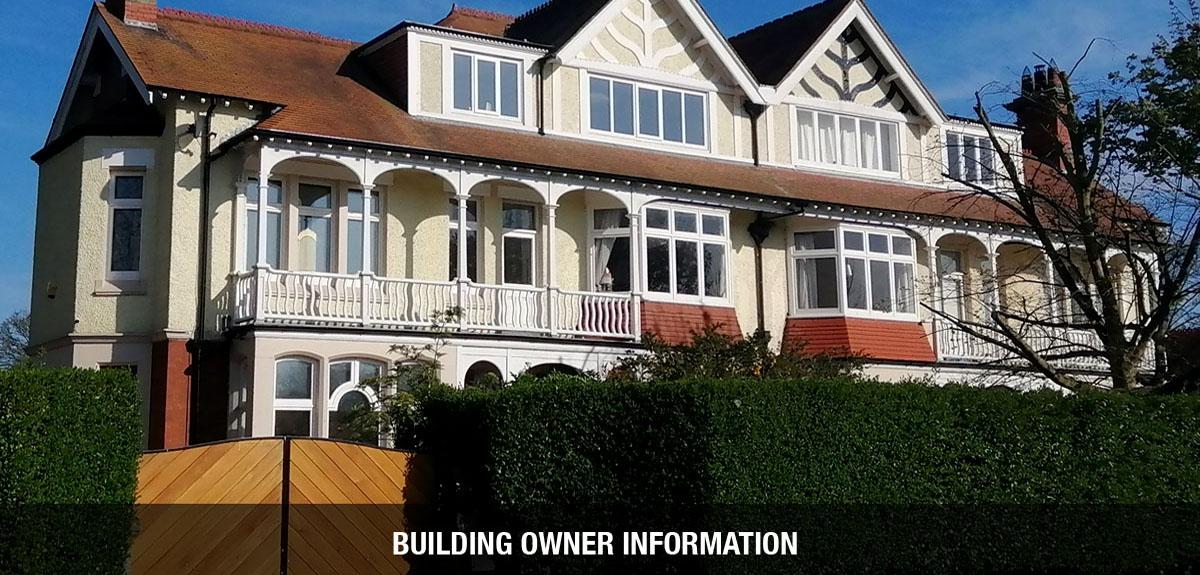 Building owner survey information